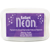 Tsukineko NR-000-75 Radiant Neon Ink Pad-Electric Purple
