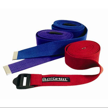 Aeromat Yoga Strap - Color: Black, Size: 72 Length