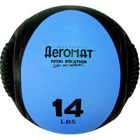 Aeromat Dual Grip Power 14 lb Medicine Ball
