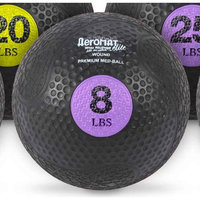 Aeromats Extreme Elite Medicine Ball in Purple