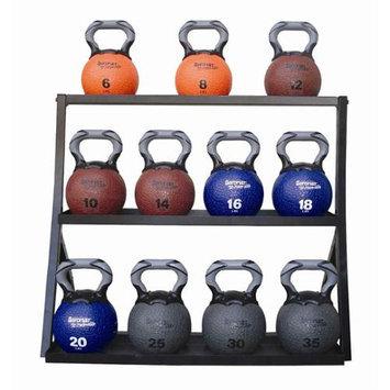 Ecowise Fitness Kettlebell Med. Ball Rack