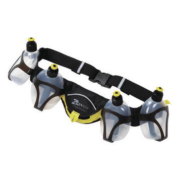Zenergy Essential Nutrition Belt with Four 10 Oz. Bottles Color: Yellow