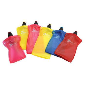 Zenergy 0.75 Ltr Foldable Reusable Bottles Color: Red