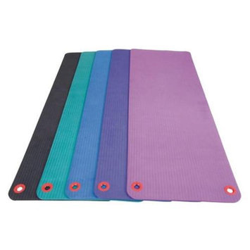 Eco Wise Fitness Ecowise 84224 Deluxe Workout and Fitness Mat- Onyx