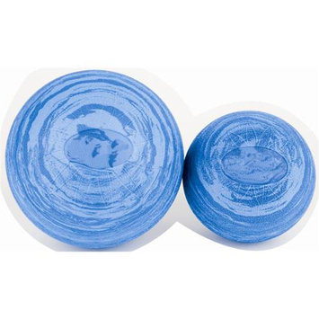 Ecowise 85302 8 in. Posture Ball- Marble Blue