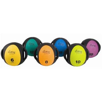 Eco Wise Fitness Dual - Grip Medicine Ball Color: Blue Dahlia / Black