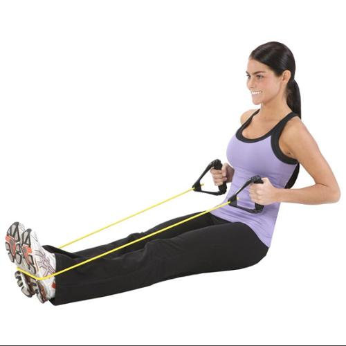 Ecowise Fitness EcoWise Premium Fitness Tube w Soft Handles (Hard Handle Heavy Blueberry)