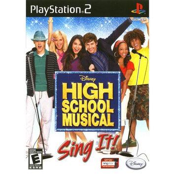 Disney High School Musical Sing It (Playstation 2)