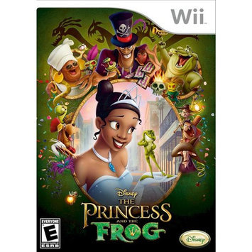 Disney The Princess And The Frog For Nintendo Wii