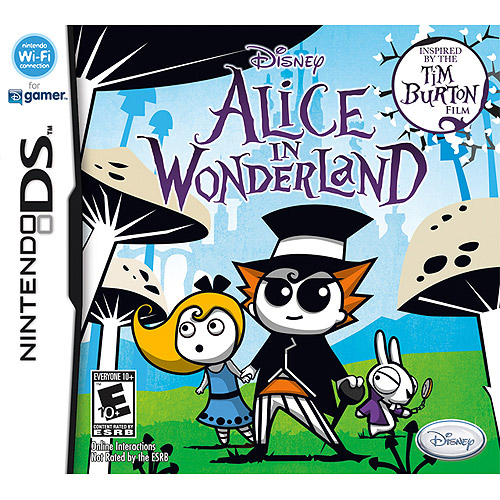 Disney Alice In Wonderland For Nintendo Ds