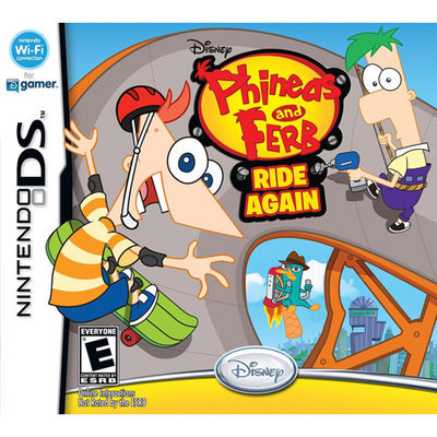 Disney Phineas and Ferb: Ride Again - Nintendo DS