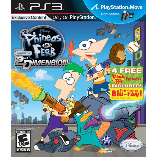 Disney Interactive Phineas and Ferb: 2nd Dimension