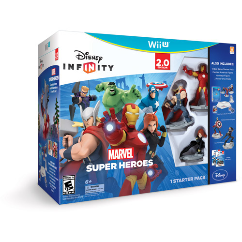 Disney Infinity 712725026509 2.0 Marvel Super Heros Starter Pack for WII U