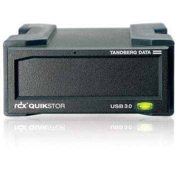 Tandberg Data RDX QUIKSTOR EXT USB3+ BLK INCLUDES ACCUGUARD BKUP SW