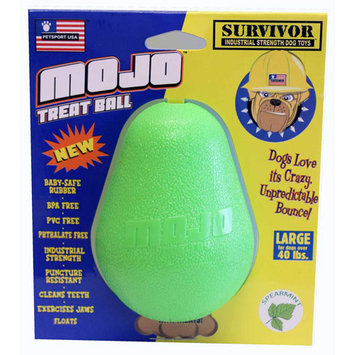 Petsport USA Large Mojo Treat Ball Dog Toy