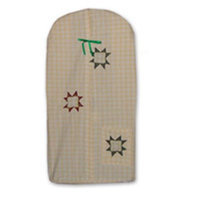Patch Magic DSCTSR Cottage Star Diaper Stacker 12 x 23 in.