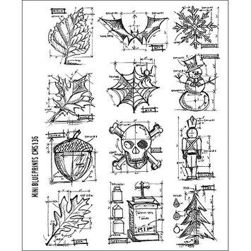 Paradise Eximport, Inc. Tim Holtz Cling Rubber Stamp Set - Warehouse District