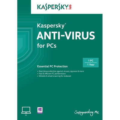 Kaspersky 2014 Antivirus Security 1-User