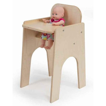 Whitney Bros Laminate Doll High Chair