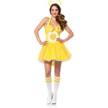 Leg Avenue CB85256 3 Piece Adult Sunshine Bear Costume Set Small & Medium Yellow