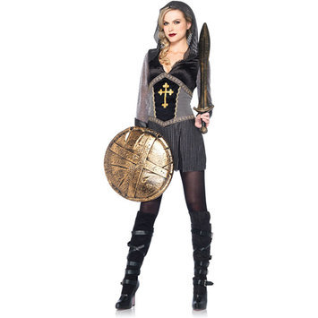 Leg Avenue Womens 1 Piece Joan of Arc Halloween Costume