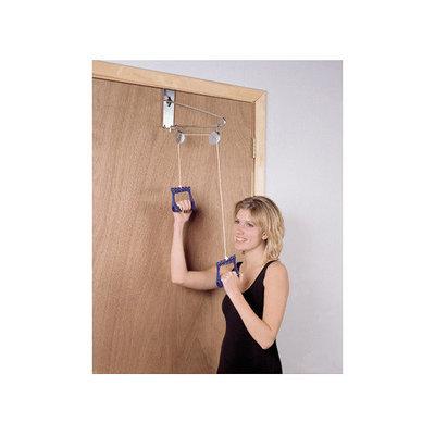 CanDo 50-1010 Overdoor Shoulder Pulley Double Pulley with Door Bracket