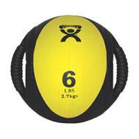 Cando Dual-Handle 24 lb. Medicine Ball - Blue