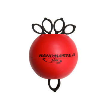Fabrication Enterprises 10-0785 Handmaster Plus Hand Exerciser - Red Late Rehabilitation
