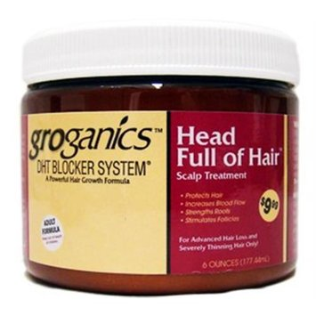Groganic DHT Head Full Of Hair Treatment 6 oz.