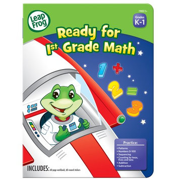 Mega Brands Leap Frog Ready for 1st Grade Reading Workbook