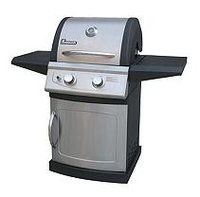 Landmann - Falcon Series Gas Grill - Black/stainless-steel