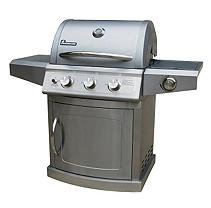 Landmann Grill. Falcon Series 3-Burner Propane Gas Grill in All Stainless Steel