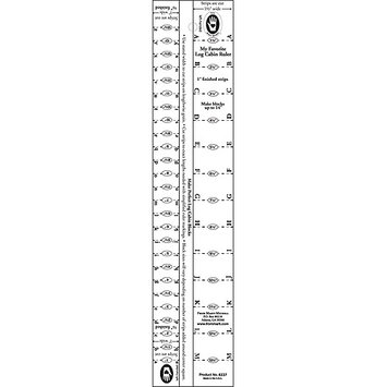 Marti Michell Log Cabin Finished Strip Widths Ruler