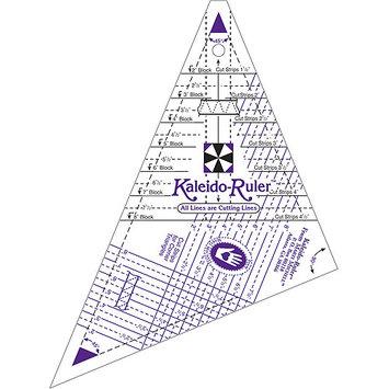 Makes 2 -8 Blocks Small Kaleido-Ruler Marti Michell 8641M