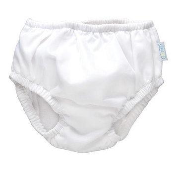 i play.A Swim Diaper in White