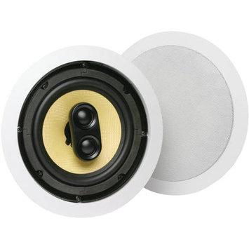 Mitek MTX DCM TD-622C 6-1/2 Stereo Input In-Ceiling Speaker System - Each (White)