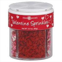 Dean Jacob's Dean Jacobs 2.96 oz. Sprinkle 4 Cell Valentine Case Of 6