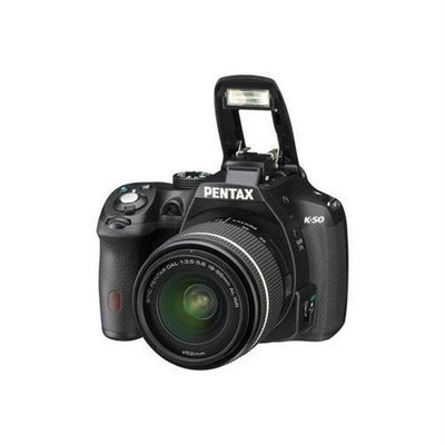 Pentax K50 16MP Dig Cam 18 55 Bun Bk