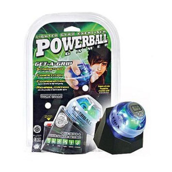 Dfx Sports & Fitness DFX Powerball Gamer Blue With Docking Station & Speed Meter