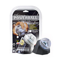 DFX Sports & Fitness - Powerball Platinum Gyro Exerciser with Docking Station