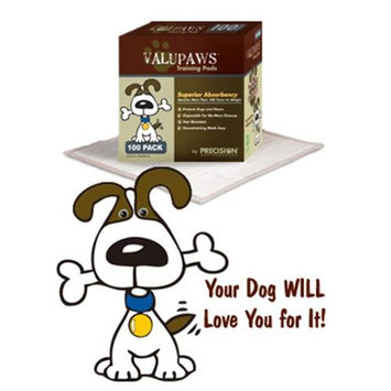 Precision Pet Products Precision Pet VPPad-100 ValuPaws Housebreaking Pads