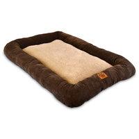 Precision Pet Coffee Bumper Dog Crate Mat Medium