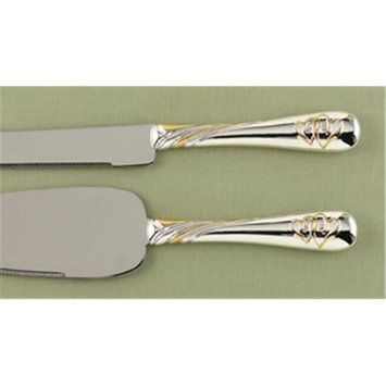 Hortense B. Hewitt 27019 Linked at the Heart Gold Serving Set