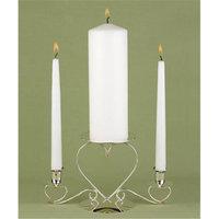 Hortense B. Hewitt 39850 White Unity Candle Plain