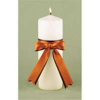 Hortense B. Hewitt 29188 Ivory Customized with 2 Colors Unity Candle