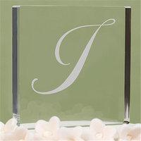 Hortense B. Hewitt Hortense b Hewitt 20488IP Letter I - Custom Script Monogram Cake Top