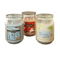LumaBase 3-piece Fresh Collection 18-oz. Jar Candle Set