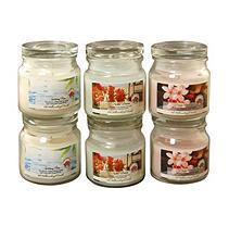 LumaBase 6-piece Fresh Collection 2.5-oz. Jar Candle Set