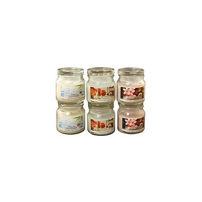 LumaBase 6-piece Fresh Collection 2.5-oz. Jar Candle Set