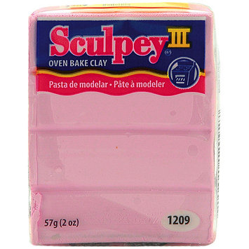 Sculpey III Polymer Clay 2 Ounces-Hot Pink